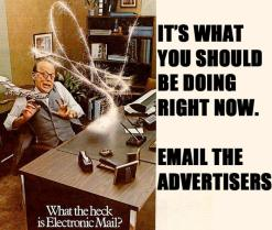 email the advertisers #gamergate