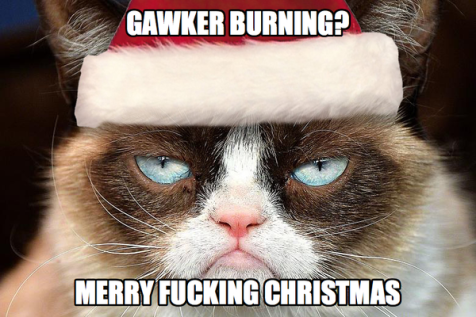 gawker burning?