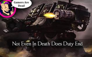not even in death