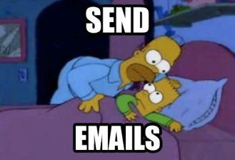 send emails