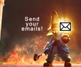 send your emails