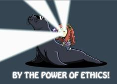 By the power of ethics