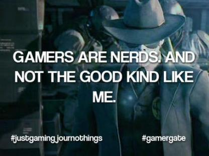 gamers are nerds