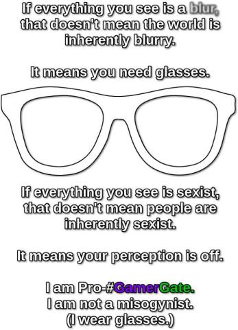 Your perception is off