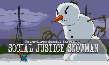 Social Justice Snowman