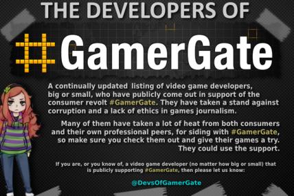 devs of gamergate