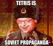 tetris is soviet propaganda