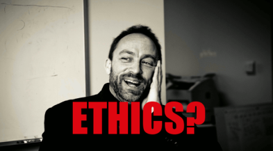 jimbo goes full ethics