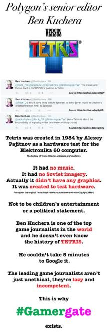 Ben Kuchera VS Tetris