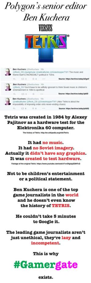 Ben Kuchera VS Tetris
