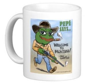 pepe mug